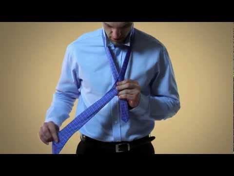 How to Tie a Necktie - Half Windsor Knot