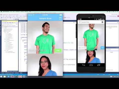 Developing Native iOS, Android and Windows Apps In C# With Xamarin & Visual Studio 2015