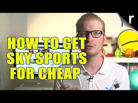 The cheapest way to get Sky Sports