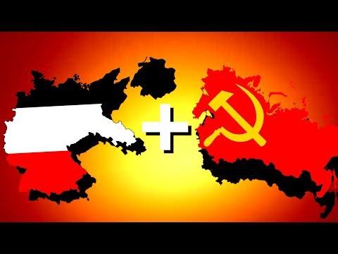 Soviet Union + Germany = Soviet-German Union!   Hearts of Iron 4 [HOI4]