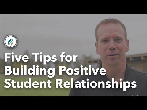 Aaron Fletcher's Tips for Building Positive Student Relationships