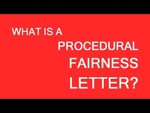 Procedural Fairness Letter. Last Chance to save the immigration case. LP Group Canada