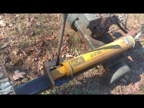 Don't buy an underpowered Gas Wood Splitter - Stuck Splitter