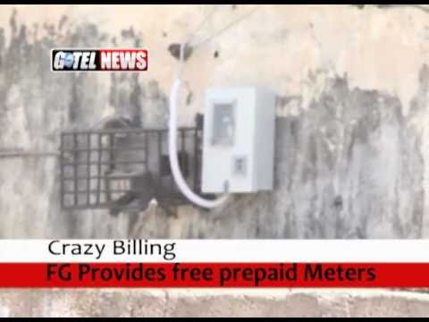 CRAZY BILLING: FG provides free pre-paid meters