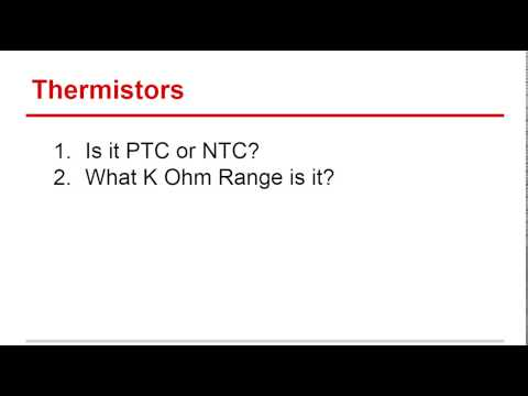 HVAC Training | Thermistors