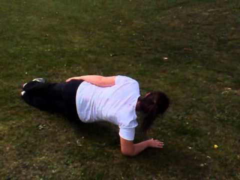 Kustom Fit  Sarah Millar  Good workout and nealy rehabbed fron broken leg