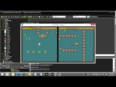 GameMaker How to Draw GUI with Views