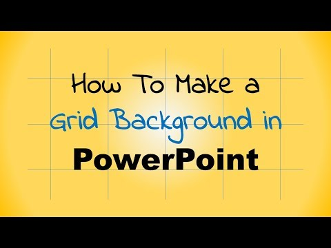 Make a grid background in PowerPoint