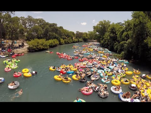 New Braunfels Tubing with Comal Tubes