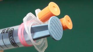 3 Awesome ideas with Syringe
