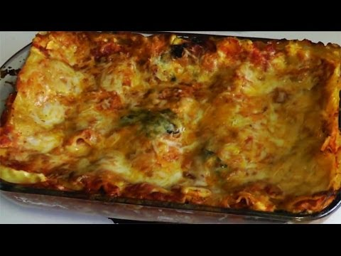 Easy Vegetarian Lasagna Recipe