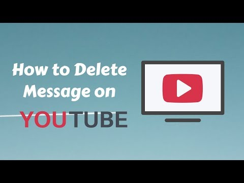SPAM: How to Delete Message on YouTube 🚫