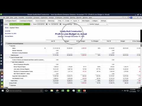 QB Power Hour: Budgets, Forecasts, Cash Flow Projections, and Business Plans in QuickBooks Desktop