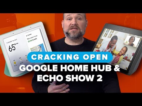 We took apart the Google Home Hub and the Amazon Echo Show 2   Cracking Open
