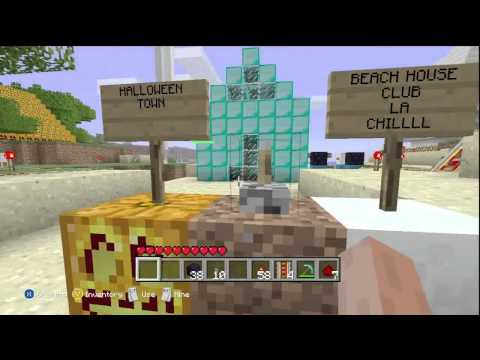Minecraft Xbox 360 Snow White And The Two Dorks (Gameplay Commentary)