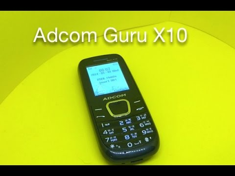 Adcom Guru X10 Mobile Phone