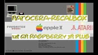 Raspberry Pi 3 - RECALBOX 128GB - PACK LEGENDARIO - 1 Link TORRENT