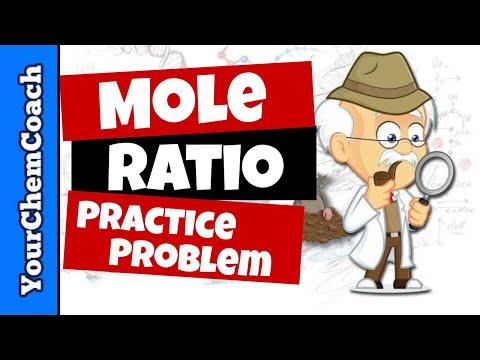 Using Mole Ratios to Determine Moles of Product | Practice Problem