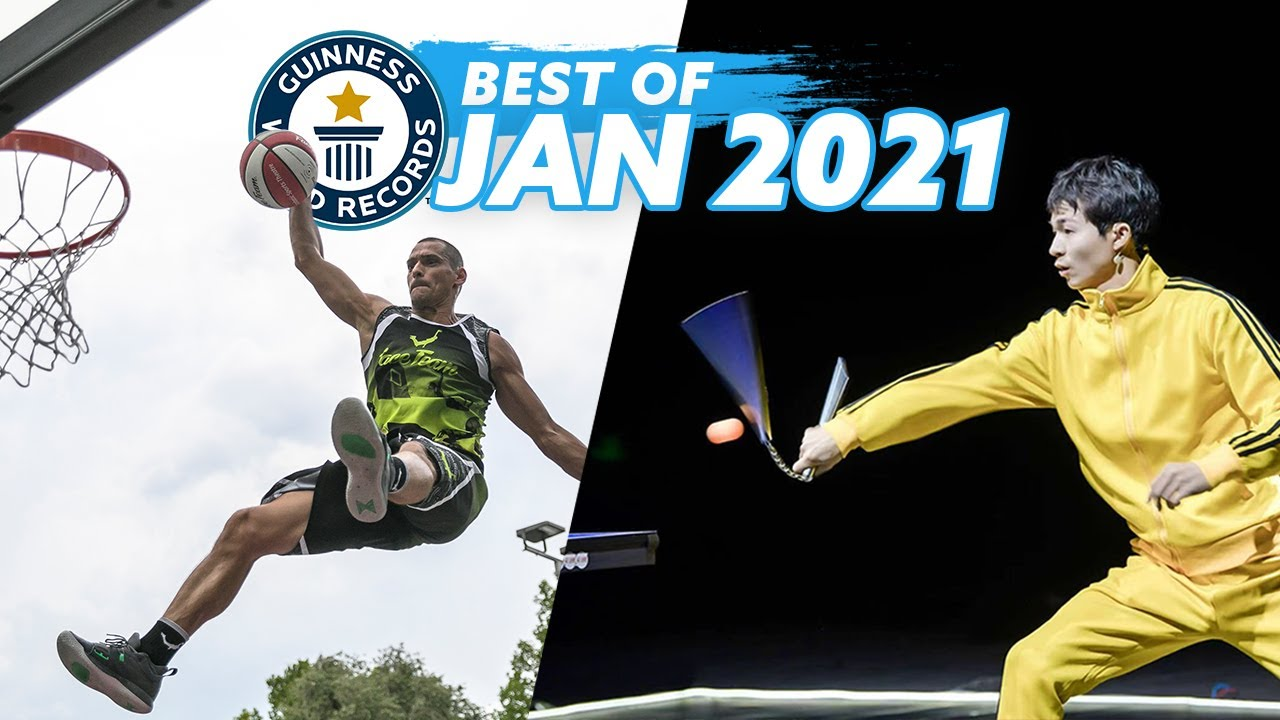Best of January 2021 - Guinness World Records