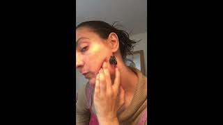 Leech Therapy on the Head. Using Medical Leeches behind the ears for detox & rejuvenation. Tsetsi