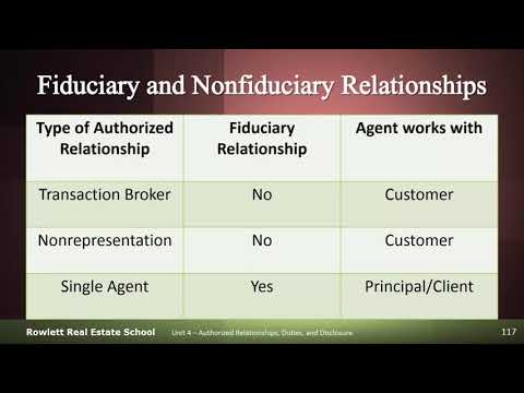 Brokerage Relationship Limitations