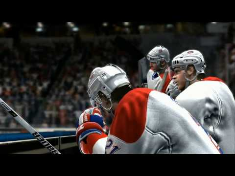 NHL 07 - Playoff Overtime Between Montreal Canadiens vs Florida Panthers