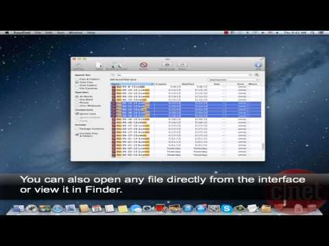 EasyFind - Find files, folders, etc. on your Mac without indexing - Download Video Previews