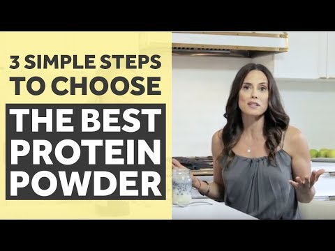 3 Simple Steps to Choose The Best Protein Powder