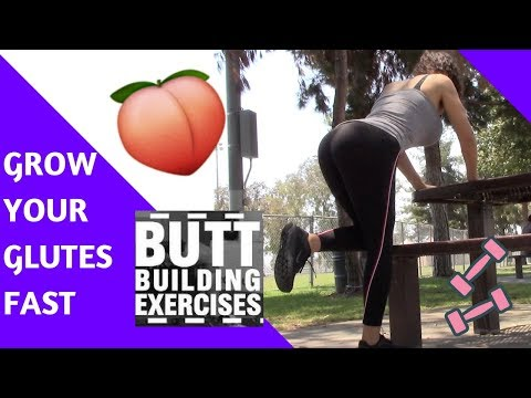 How to GET A ROUNDER BUM How to GROW YOUR GLUTES How to lose weight and get fit | Kali Sanchez Vlogs