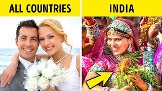 12 Strange Wedding Traditions That