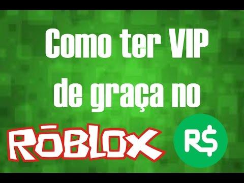 COMO CONSEGUIR VIP DE GRAÇA NO ROBLOX SEM ROBUX #BUG#