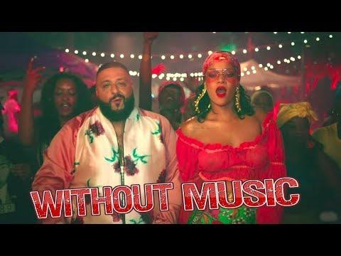 Dj Khaled & Rihanna - Without Music - Wild Thoughts