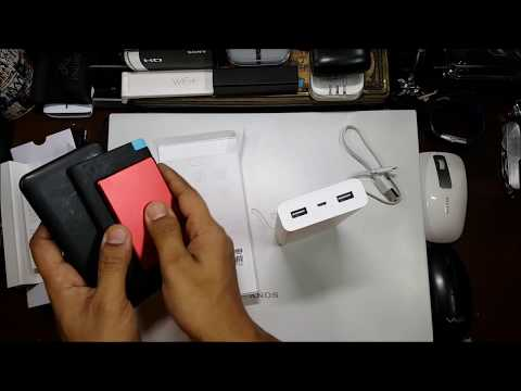 20000 mah Mi Powerbank 2i (Unboxing and Overview)