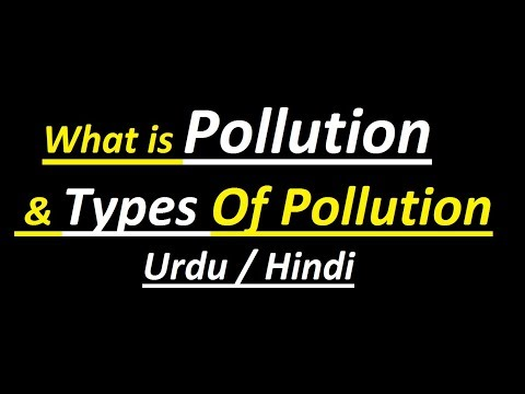 What is Pollution, Air Pollution, Water Pollution, Noise Pollution & Land Pollution ? (Urdu / Hindi)