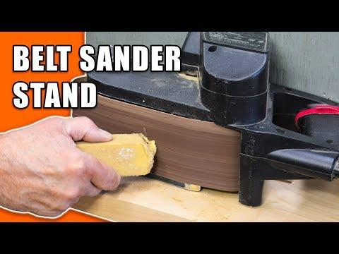 Belt Sander Stand: Convert your Belt Sander to a Bench Sander
