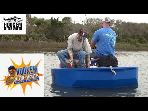 Guide fishing in the ROUNDABOUT WATERCRAFTS ! Ft. Kyle & Alex! Guana River Redfish and Sea-trout !
