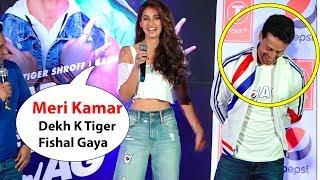 Download Girlfriend Disha patani Makes Fun Of Her Boyfriend Tiger Shroff Disha And Tiger Cute Moment Video