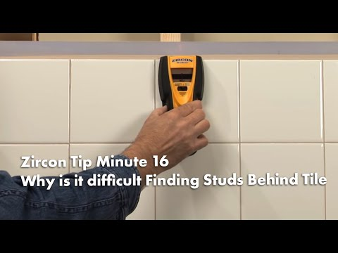Zircon Tip Minute 16: How to Find Wall Studs Behind Tile (Kitchens & Bathrooms)
