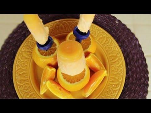 How to Make Homemade Orange Cream Popsicles