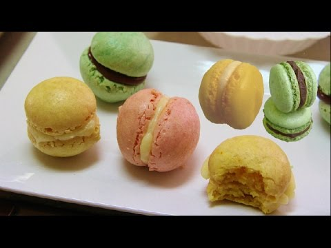 Eggless French Macarons Video Recipe by Bhavna | Vegan French Macarons Recipe