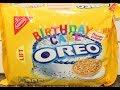 Golden Birthday Cake Oreo Cookie Review