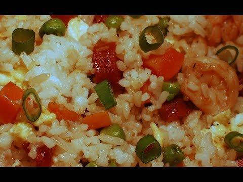 杨周炒饭 Yang Zhou Chow Fan Fried Rice - Chinese Cooking ( short cut )