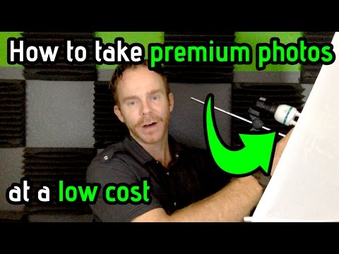 How to Take Premium Product Photos at Low Cost for Amazon eBay Products