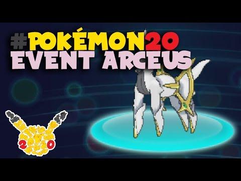 #Pokemon20 - Event Arceus - Pokemon X/Y/OR/AS