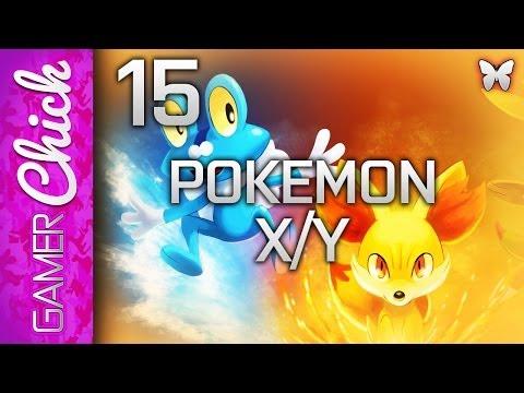 ❤ Pokemon X and Y - Walkthrough [Part 15 Cyllage City!] (3DS) w/ XxxGamerChick26xxX