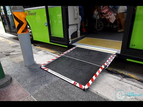 SBS Transit MAN A95: Automatic Wheelchair Ramp (SG5835M)