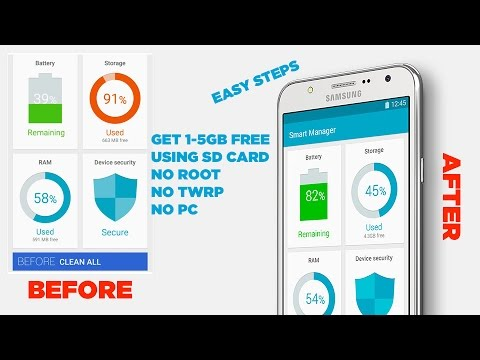 How to Free Up Space on Galaxy J2, J5, J7 (NO ROOT)