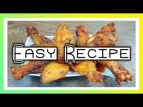 How To Bake Wings In The Oven