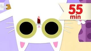 Peek-a-boo Song + More   Kids Songs   Super Simple Songs