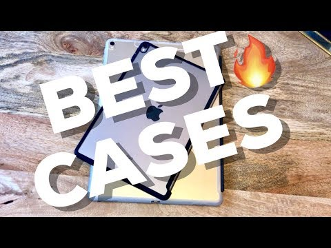 Best Cases for iPad Pro!! 2017 Review (i-Blason Clear Hybrid Cover Case & Apple Smart Cover)